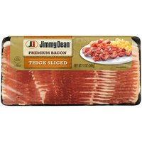 Jimmy Dean Thick Cut Smoked Bacon, 12 Ounce