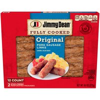 Jimmy Dean Jimmy Dean Fully Cooked Original Pork Sausage Links, 9.6 Ounce