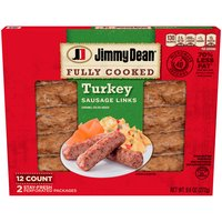 Jimmy Dean Fully Cooked Turkey Sausage Links, 9.6 Ounce