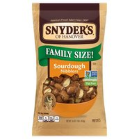 Snyder's of Hanover Sourdough Fat Free The Pounder Nibblers, 16 Ounce