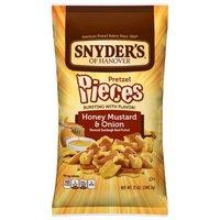 Snyder's of Hanover Honey Mustard & Onion Pretzel Pieces, 12 Ounce