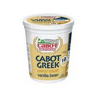 Cabot Cabot Greek Vanilla Bean Lowfat Yogurt, 32 Ounce