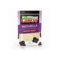 Cabot's smooth, easy melting Shredded Mozzarella compliments all your Italian favorites, but it doesn't stop there! Melt it over roasted vegetables or try it in Mexican dishes to put a twist on ethnic tradition.