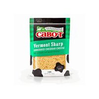 Cabot Vermont Sharp Yellow Cheddar Shreds, 8 Ounce