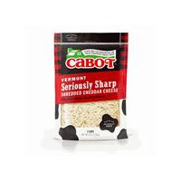 Cabot Seriously Sharp White Cheddar Shred, 8 Ounce