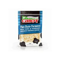Cabot Vermont Double Double Cheddar - Shredded, 8 Ounce