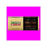 Cabot White Oak Cheddar Cheese, 6 Ounce