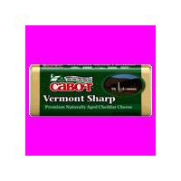 Cabot Vermont Sharp White Cheddar Cheese, 8 Ounce