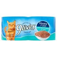 9Lives Cat Food - Chicken & Tuna Dinner, 22 Ounce