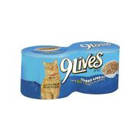 9Lives Cat Food - W/ Real Chicken in Gravy, 22 Ounce