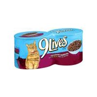 9Lives Cat Food- Beef & Gravy Dinner, 22 Ounce