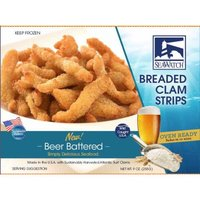 Sea Watch Beer Battered Clam Strips, 9 Ounce