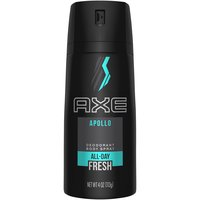 AXE Body Spray for Men Apollo 4 oz is part of the Apollo male grooming range from AXE. It is a classically masculine, sophisticated fragrance with an addictive edge.