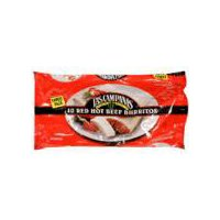 Las Campanas Burritos - Red Hot Beef, 40 Ounce