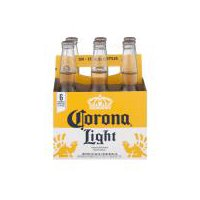 Corona Light Imported Beer - 6 Pack, Bottles, 72 Ounce