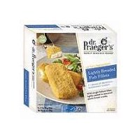 Dr. Praeger's Purely Sensible Foods Lightly Breaded Fish Fillets, 10.2 Ounce