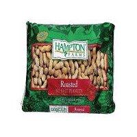 Hampton Farms Roasted No Salt Peanuts, 16 Ounce