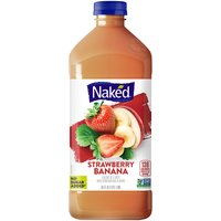 Naked All Natural Strawberry Banan-C Juice Smoothie, 64 Fluid ounce