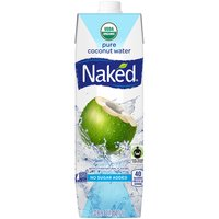 Naked Juice Organic Pure Coconut Water, 33.8 Fluid ounce