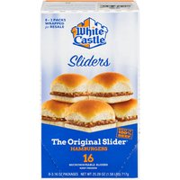 16 Heat & Serve Sliders - Microwaveable - Eight 2-Packs