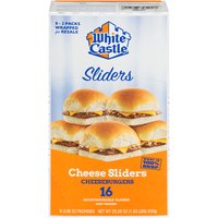 16 Heat & Service Sliders - Microwaveable - Eight 2-Packs