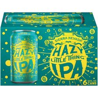 Sierra Nevada Hazy Little Thing IPA - 6 Pack Cans, 72 Fluid ounce