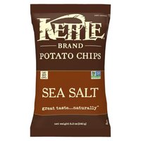 Kettle Brand Potato Chips - Sea Salt, 9 Ounce