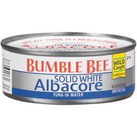 Bumble Bee Solid White Albacore Tuna in Water, 5 Ounce
