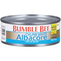 Our wild caught Chunk White Albacore provides the same quality as our solid white albacore, but comes pre-separated to make mixing in tuna salads easier than ever.