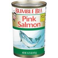 Bumble Bee Wild Pink Salmon, 14.75 Ounce