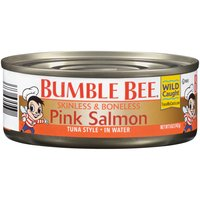 Indulge in the fresh, flavorful taste of salmon! This savory pink salmon makes a delicious ingredient in sandwiches, salads, soups, dips and your favorite tuna recipes, too.
