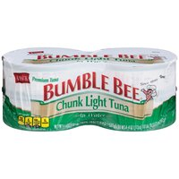 4-5 oz Cans. Our premium, wild caught Chunk Light tuna is perfectly flaked to use in sandwiches and casseroles, and this conveniently sized can will keep your family satisfied and happy.