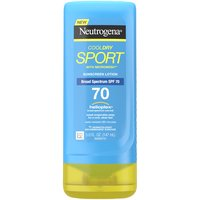 Help protect skin from harmful UVA/UVB rays. This sport strength sunscreen lotion offers superior broad spectrum protection that stays on through sweat