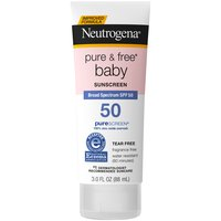 Help protect your baby's delicate skin against harmful UV rays with Neutrogena Pure & Free Baby Mineral Sunscreen.