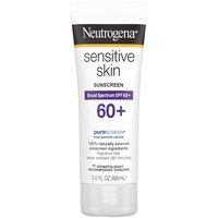 Helps to gently protect skin from the sun's harmful rays. This Broad Spectrum SPF 60+ lotion contains naturally sourced sunscreens and is free of fragrances and oils that may irritate sensitive skin.