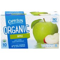 6 fl oz each. USDA certified organic. Contains no artificial colors, flavors or preservatives. No added sugar; sweetened only with fruit juice. Each pouch contains 1 serving of fruit.