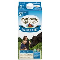 Organic Valley Lactose Free 2% Milk, 64 Fluid ounce