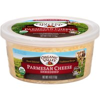 Organic Valley Parmesan Shredded Cheese, 4 Ounce