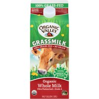 Organic Valley Grassmilk Organic Whole Milk, 64 Fluid ounce