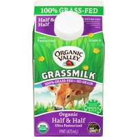 1 pint carton. 100% Grass-Fed, No Grain.
