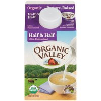 Ultra Pasteurized; Kosher Dairy; USDA Organic