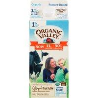 Organic Valley 1% Lowfat Milk, 0.5 Gallon