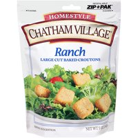 Chatham Village Croutons - Large Cut - Ranch, 5 Ounce