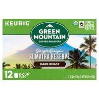 Green Mountain Coffee Green Mountain Coffee Sumatran Reserve Dark Roast Extra Bold K-Cup Pods, 12 Each