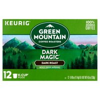 Green Mountain Coffee Green Mountain Coffee Dark Magic Extra Bold K-Cup Pods, 12 Each