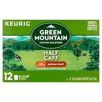 Green Mountain Coffee Green Mountain Coffee Medium Roast Half-Caff K-Cup Pods, 12 Each