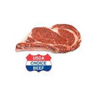 USDA Choice Beef USDA Choice Beef Bone-In Rib Steak, 0.9 Pound