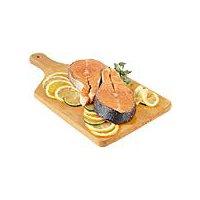 Fresh Seafood Department Fresh  Atlantic Salmon Steaks, 1 Pound
