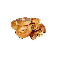 Fresh Bake Shop Bagels - Assorted Variety, 6 Pack, 18 Ounce