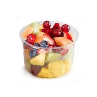 Fresh cut fruit may contain Pineapple, Cantaloupe, Blueberries, Honeydew, Strawberries, Watermelon